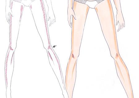 450x318 How To Draw Skin Shadows I Draw Fashion