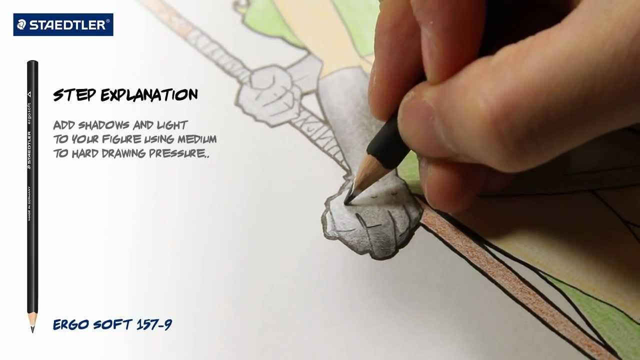 1280x720 Manga Drawing Instructions