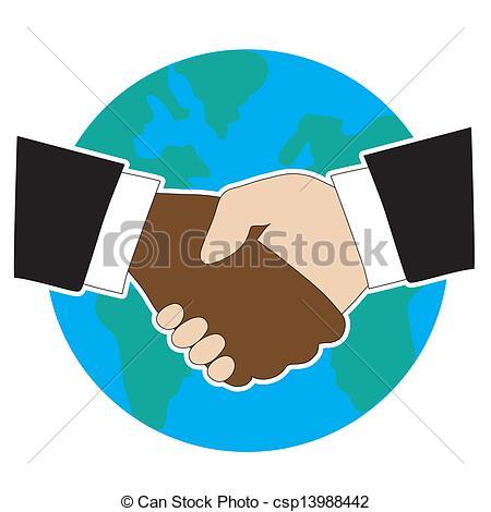 450x470 World Hand Shake. Hands Shaking