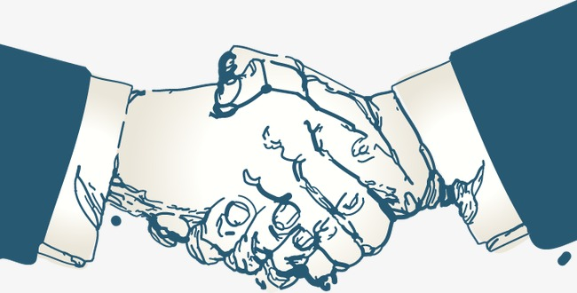 650x330 Shake Hands, Cartoon, Hand Painted Png And Vector For Free Download
