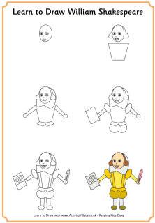 222x320 Learn To Draw William Shakespeare Literature