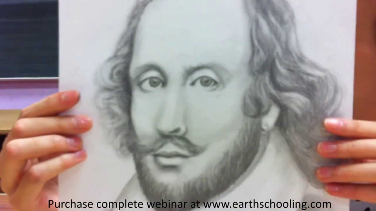 1280x720 Waldorf Inspired Shakespeare Drawing For Eighth Grade