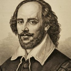 250x250 William Shakespeare Drawing, Pencil, Sketch, Colorful, Realistic