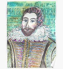 210x230 William Shakespeare Drawing Posters Redbubble