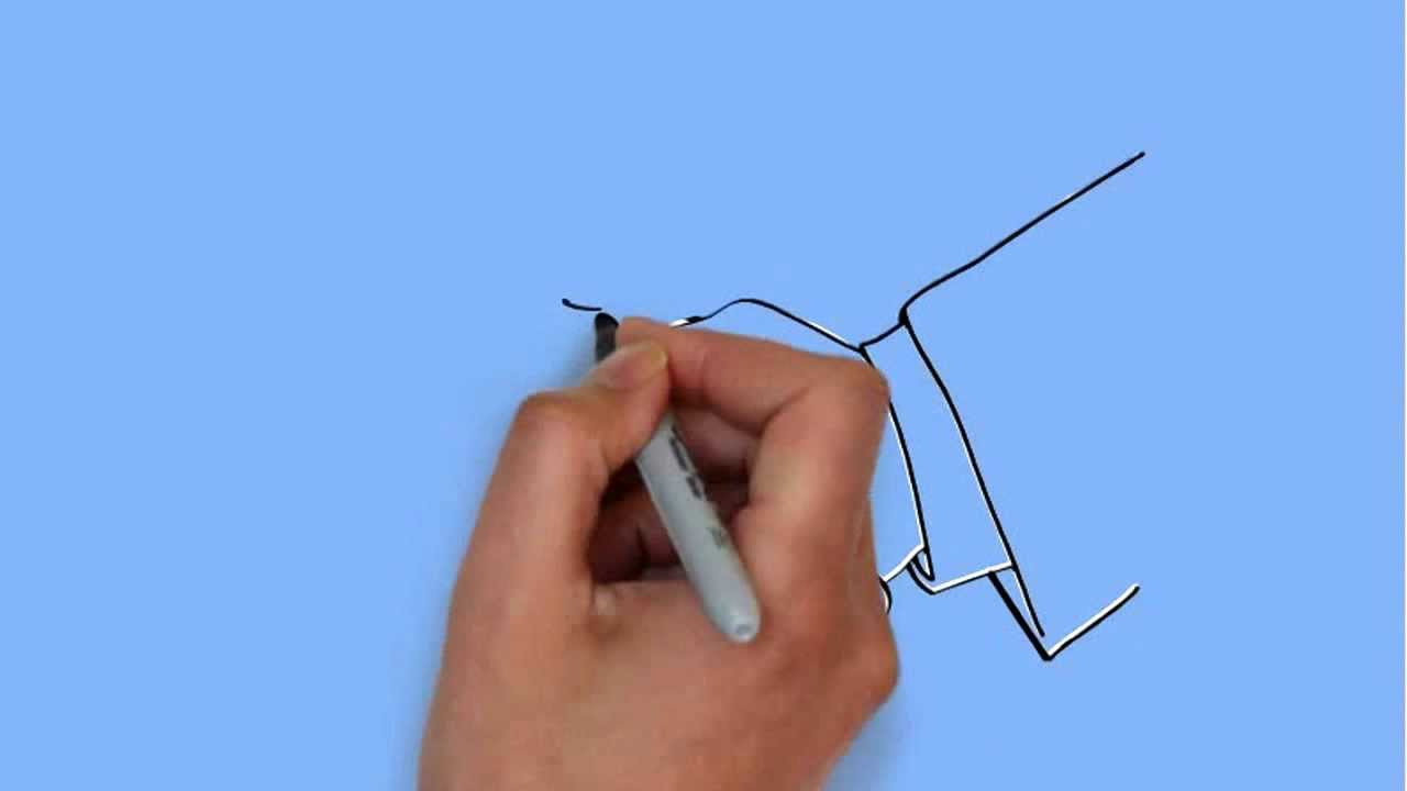 1280x720 How To Draw Handshake Drawing
