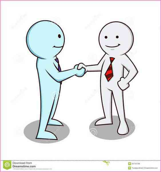 563x602 Image Gallery Of Two People Shaking Hands Drawing
