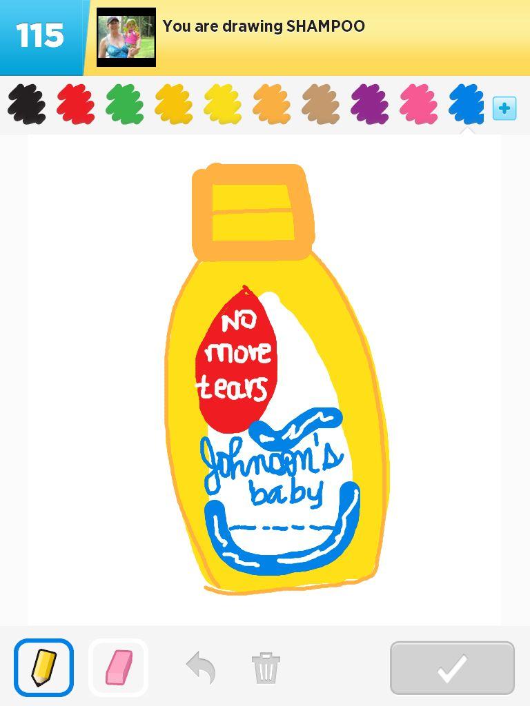 768x1024 Shampoo My Draw Something Creations