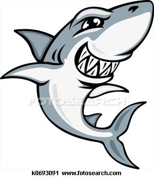 318x370 Cartoon Shark Mascot Clipart Shrinky Dinks, Shark And Cartoon