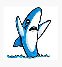 210x230 Left Shark Drawing Photographic Prints Redbubble