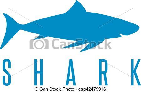 450x294 Vector Design Template Of The Abstract Shark Vector Clip Art