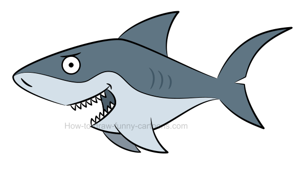 600x334 To Draw A Shark Picture