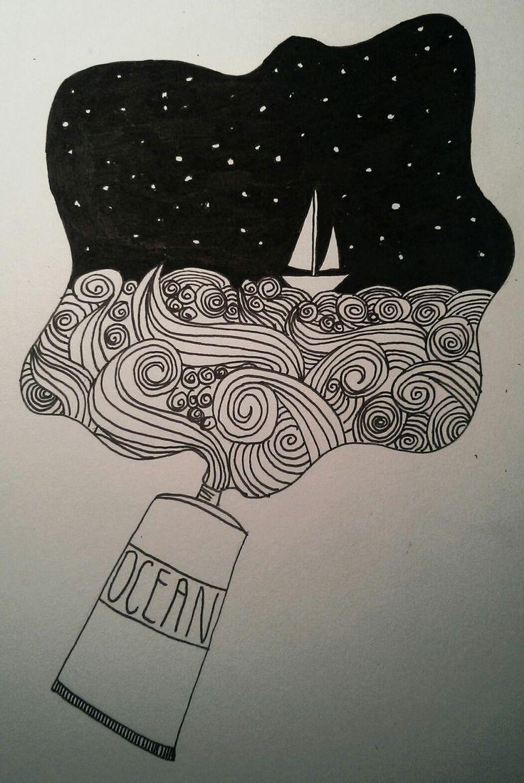 Sharpie Drawing At Getdrawings Com