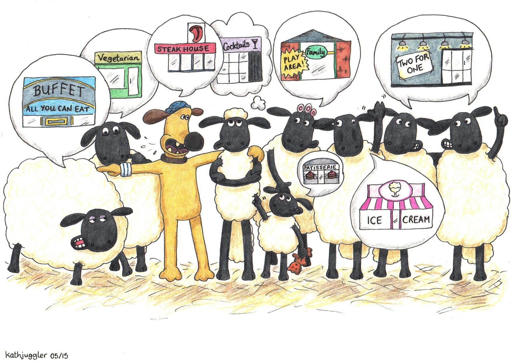 Colorful Shaun The Sheep Template Frieze - Resume Ideas - namanasa.com