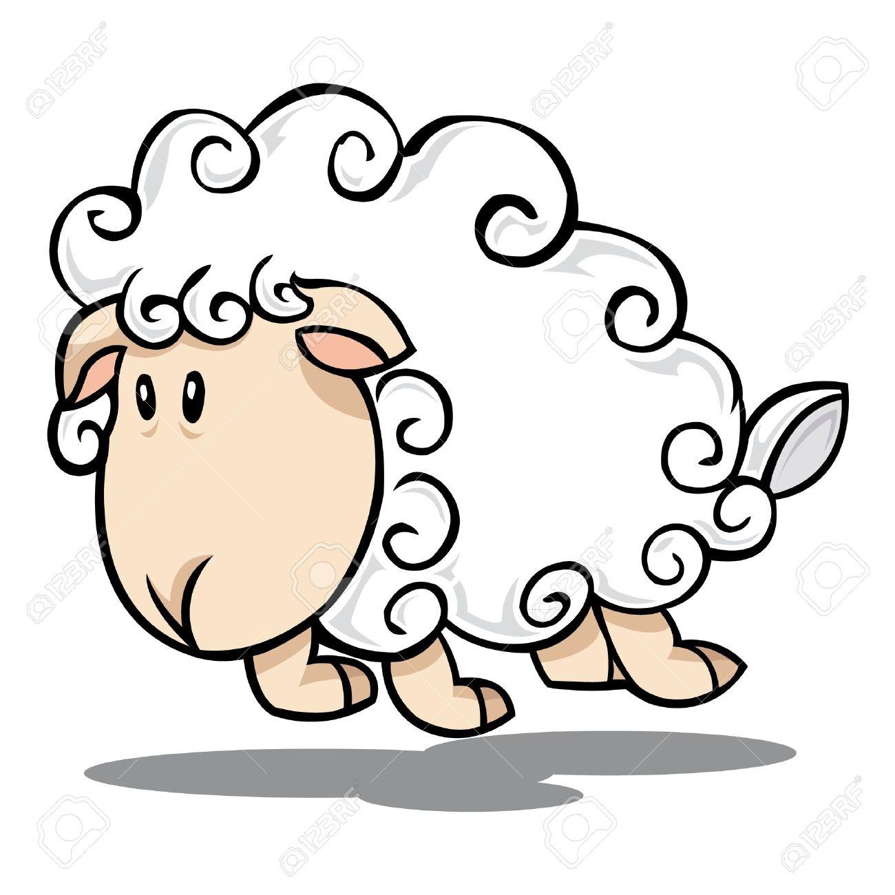 1300x1300 Cartoon Sheep Drawing Best Sheep Cartoon Ideas