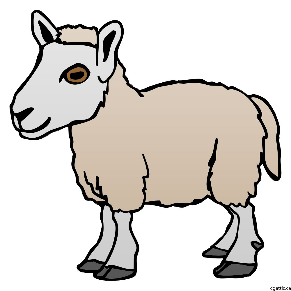 1000x1000 Sheep Cartoon Drawing In 4 Steps With Photoshop