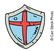 189x179 Cartoon Medieval Shield Vector Clip Art