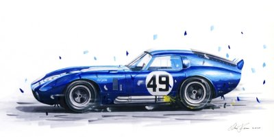 400x201 Shelby Cobra Drawing Shelby Forums