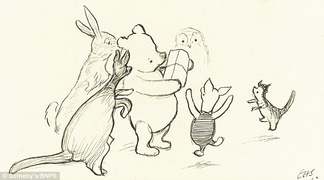 634x352 Charming First Ever Sketches Of Winnie The Pooh Tipped To Fetch