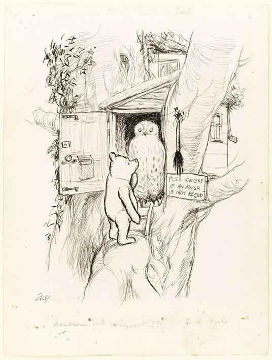 536x709 E.h. Shepard Drawings The Michael Winner Sale
