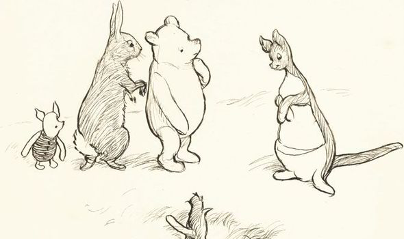 590x350 Original Winnie The Pooh Drawings Set To Go Up For Auction Uk