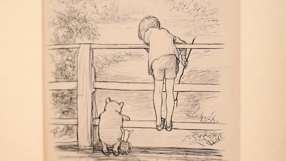 960x540 World Record Price For Winnie The Pooh Drawing