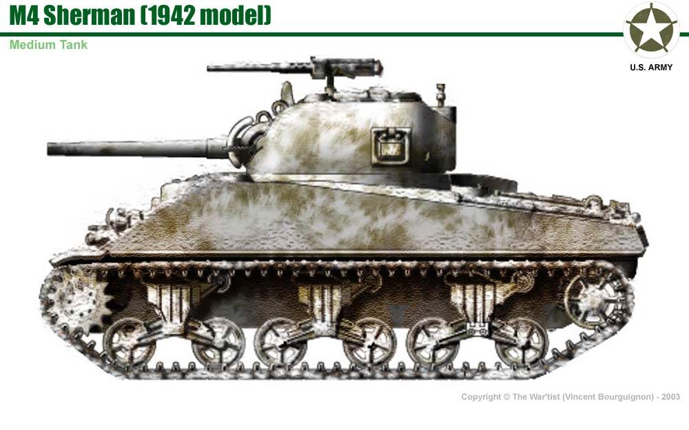 1000x624 M4 Sherman (1942 Production Model)