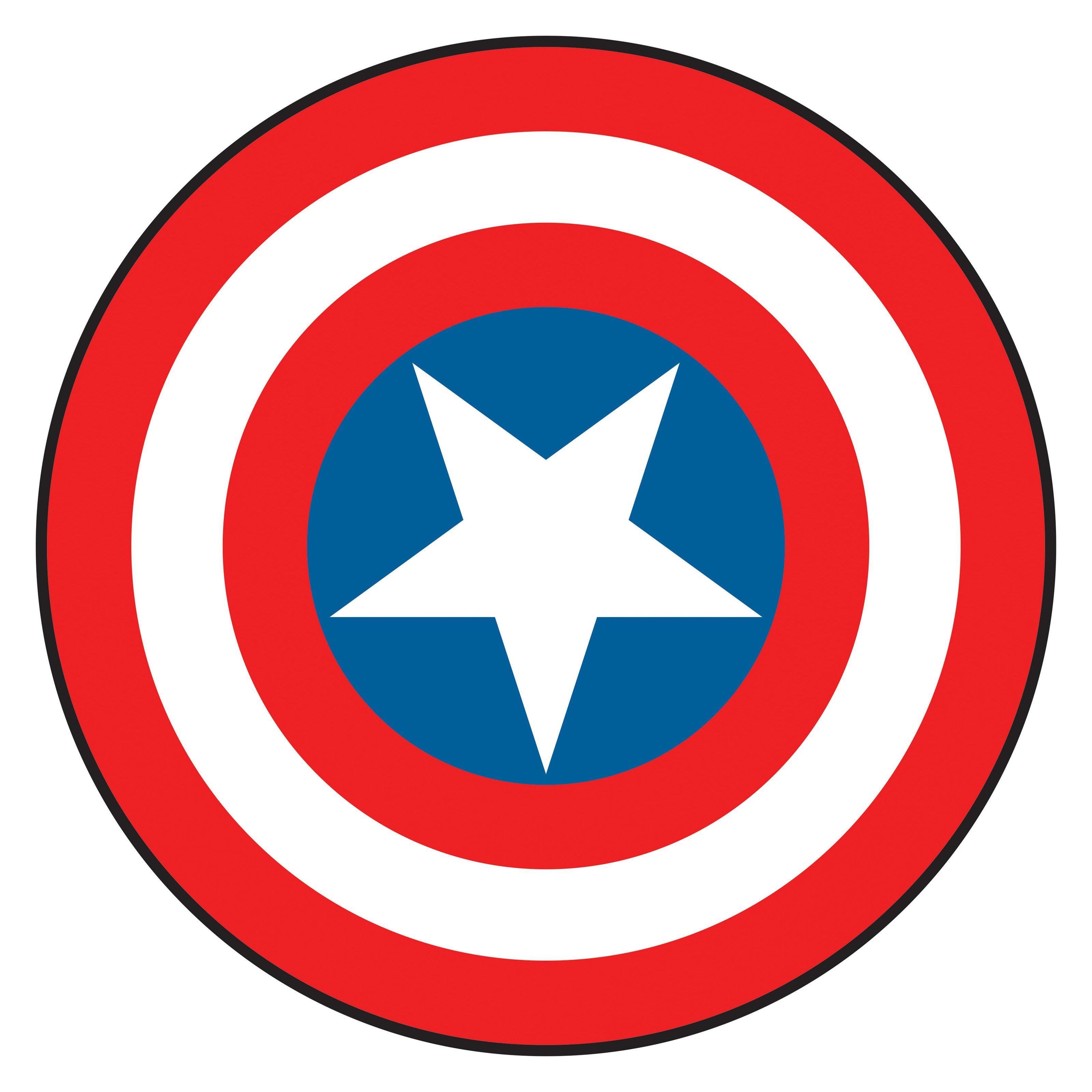 3200x3200 Captain America Shield Drawing Captain America Shield Clipart