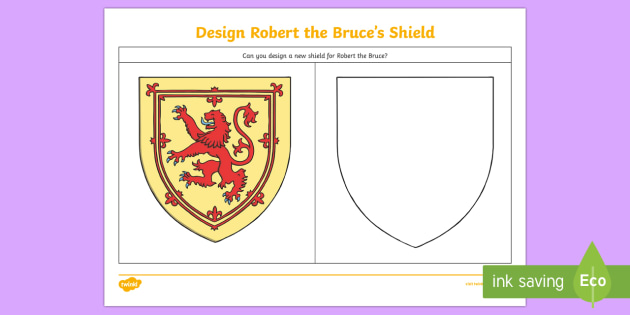 630x315 Design A Shield For Robert The Bruce Drawing Activity