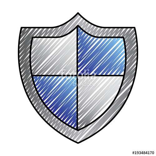 500x500 Shield Protection Secure Information Data Symbol Vector