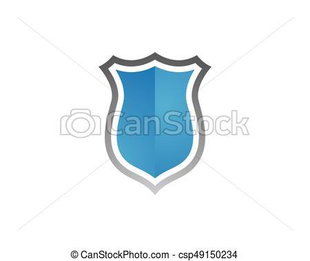 450x380 Security Guard Logo Design Vector Shield Template Vectors