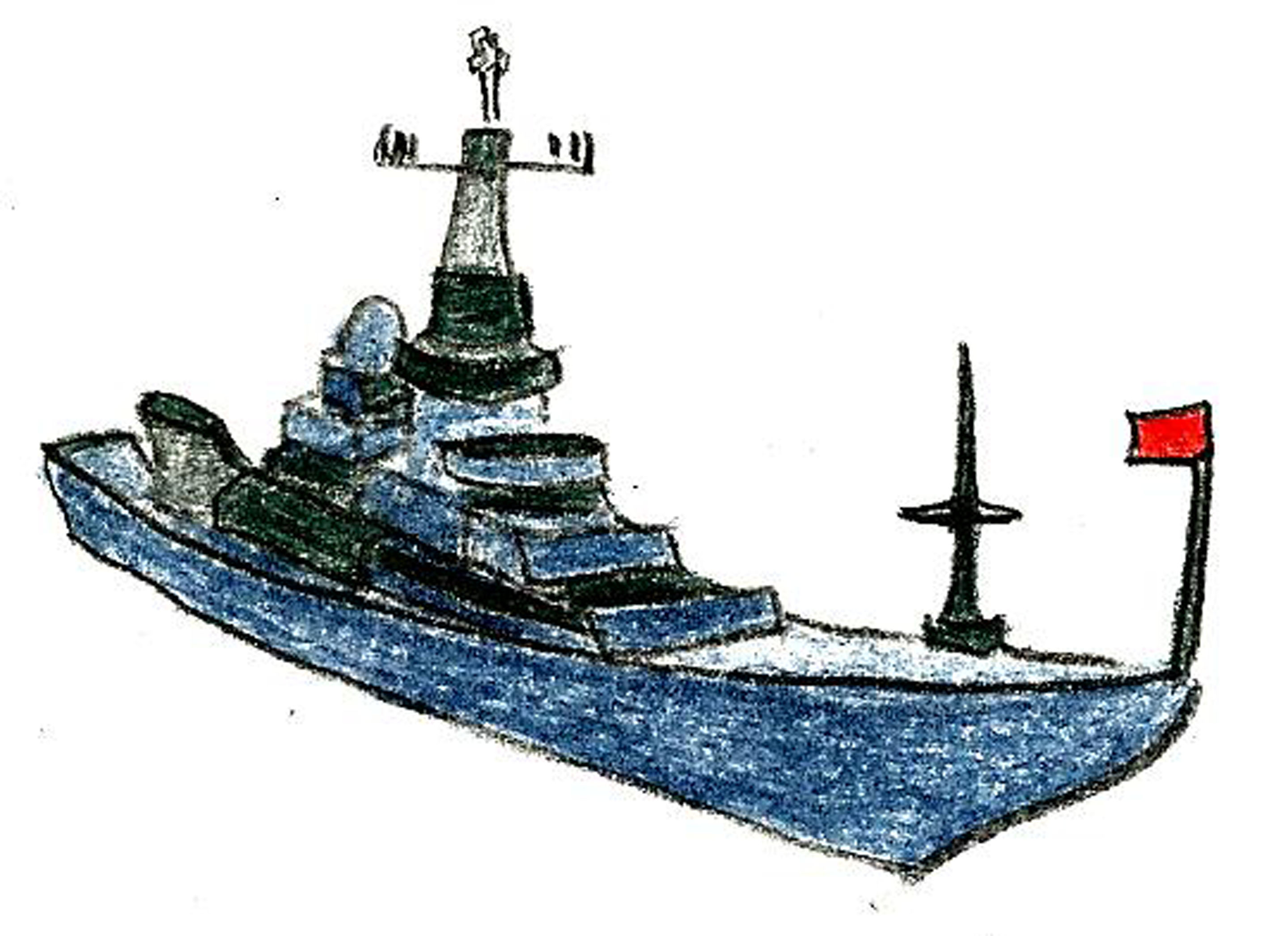 2880x2092 How To Draw A Navy Ship 9 Steps (With Pictures)