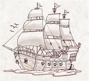 300x273 Image Result For Pirate Ship Drawing Easy Ship Concept