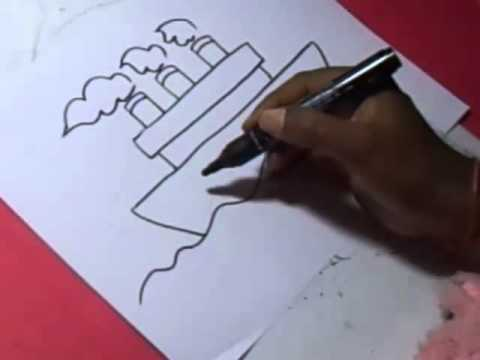 480x360 How To Ship Drawing For Kids Step By Step