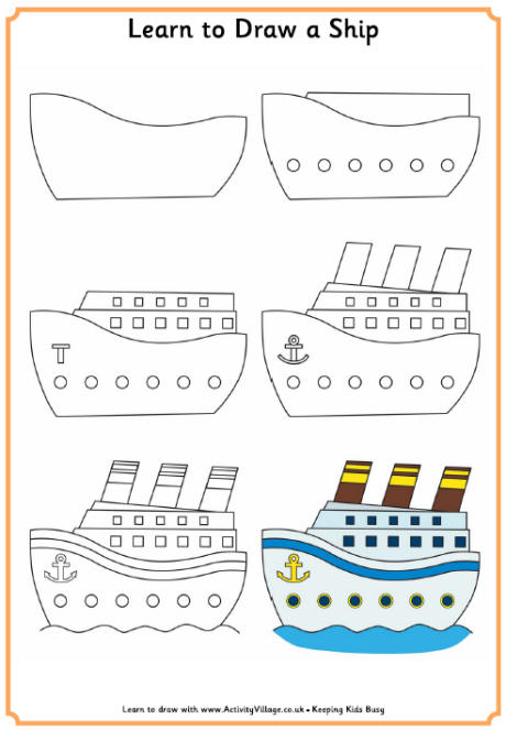 460x663 Learn To Draw A Ship 460 0.jpg