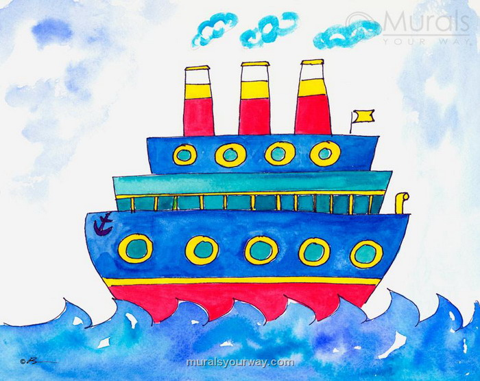 Ship Drawing For Kids At GetDrawings.com