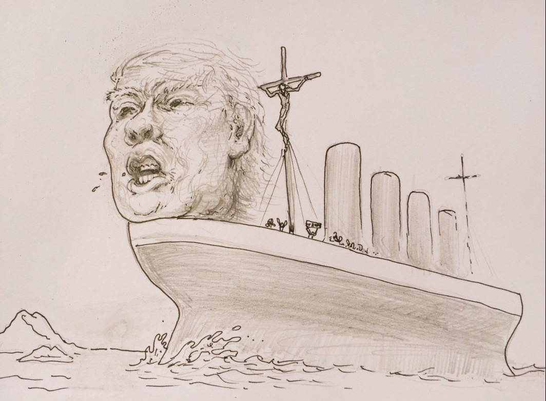 1064x781 Floating On Polluted Waters In A Sinking Ship New American Journal