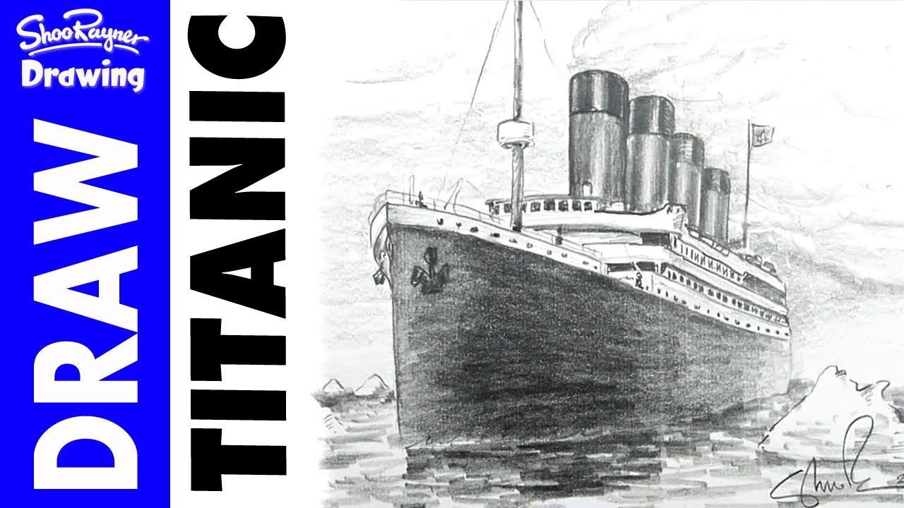 1280x720 How To Draw The Titanic In Pencil