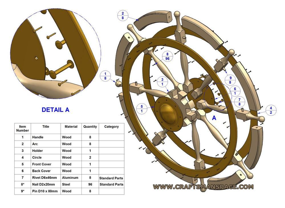 1000x731 Ship Wheel Plan