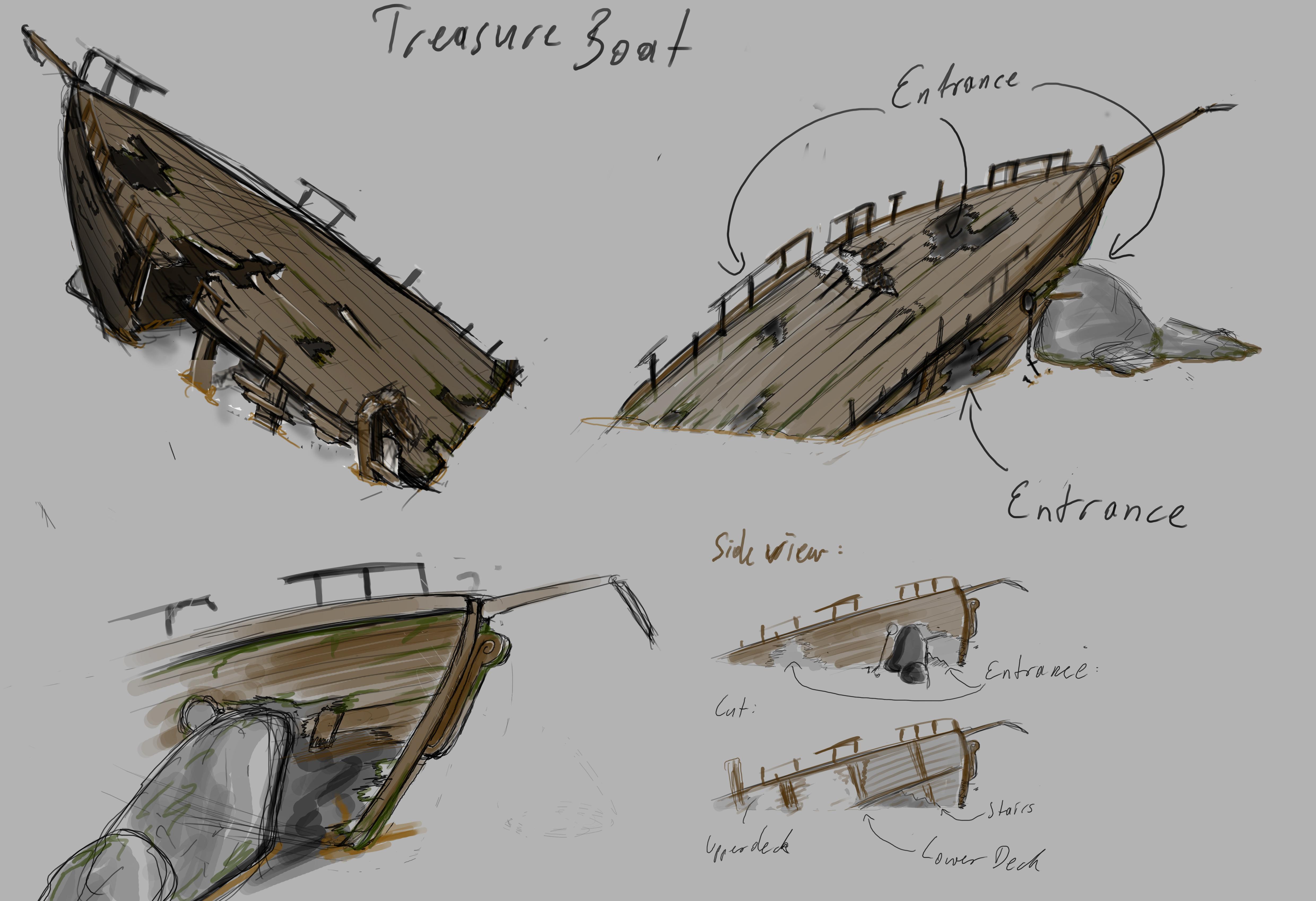 4961x3399 Shipwreck Polycount