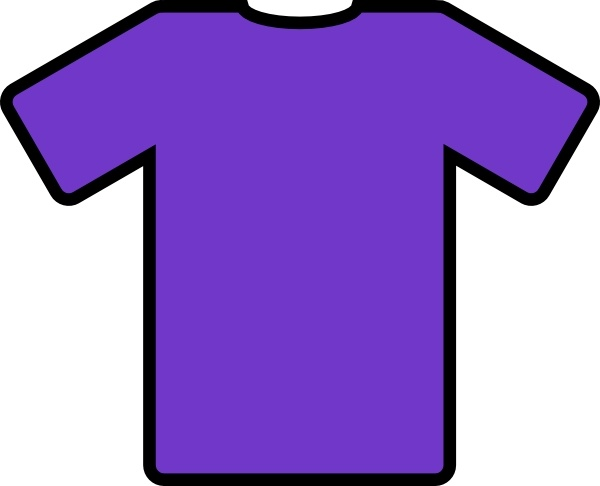 600x486 Purple T Shirt Clip Art Free Vector In Open Office Drawing Svg