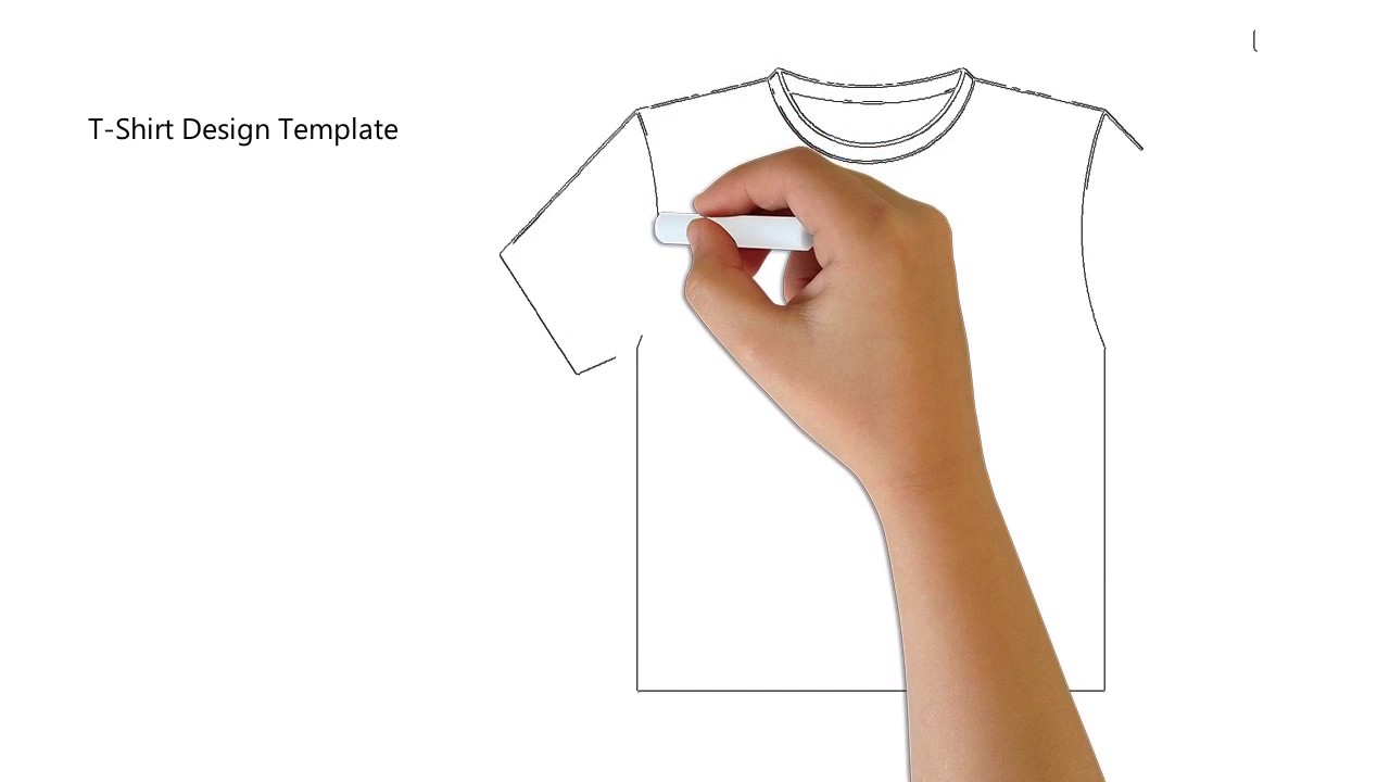 Shirt Drawing Template At GetDrawingscom Free For Personal Use - Sweatshirt design template