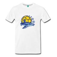 190x190 Handball Club Hai Shark Logo Drawing T Shirt Spreadshirt