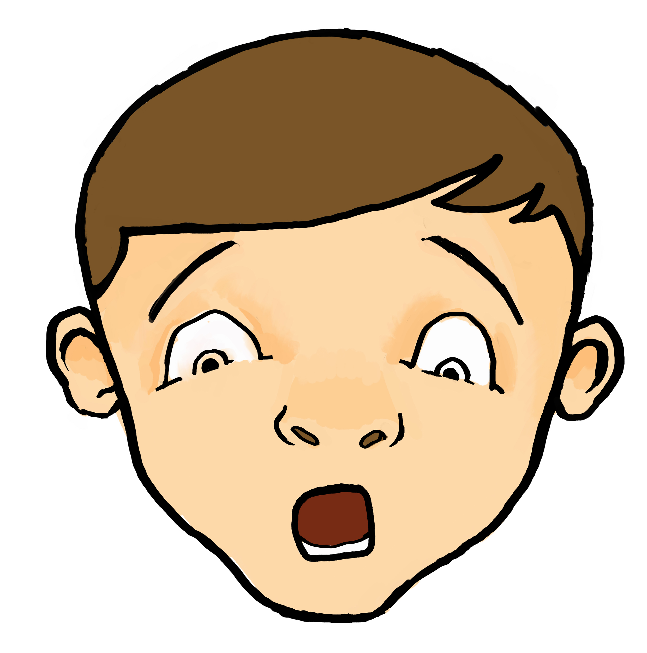 shocked face drawing at getdrawings com free for personal use rh getdrawings com shocked cartoon face gif cartoon pics of shocked faces