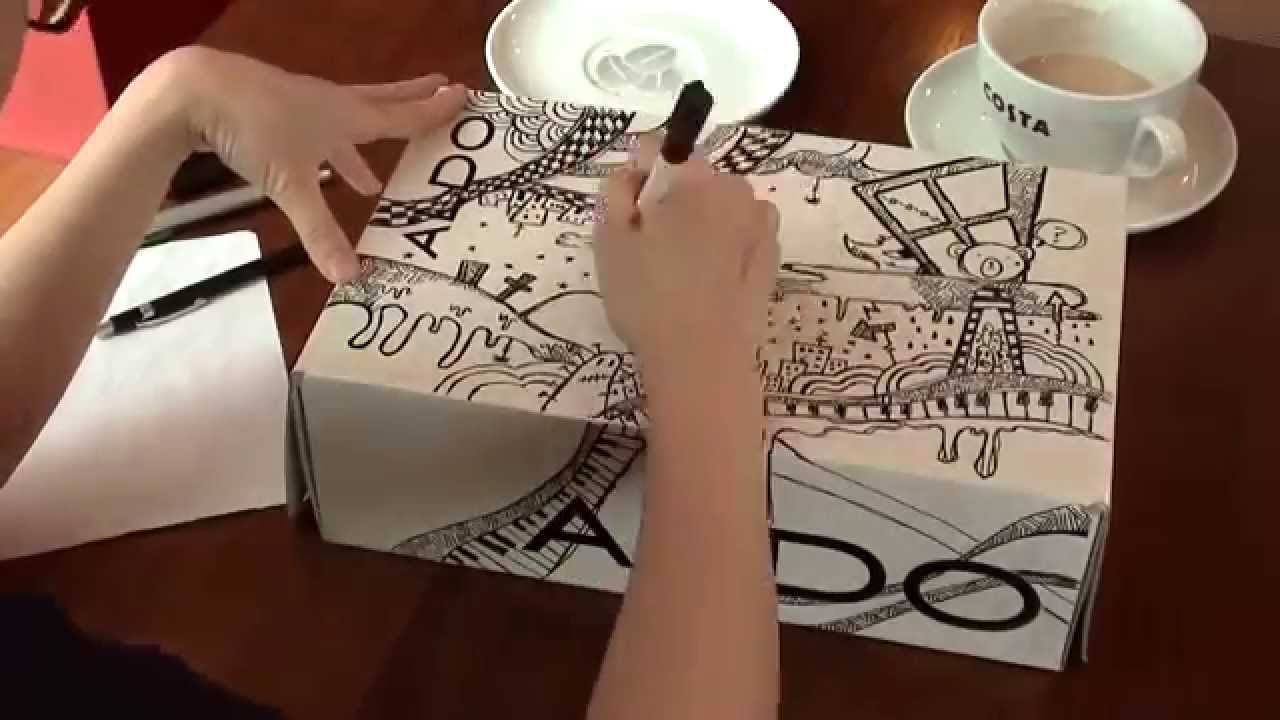 1280x720 Drawing On An Aldo Shoebox