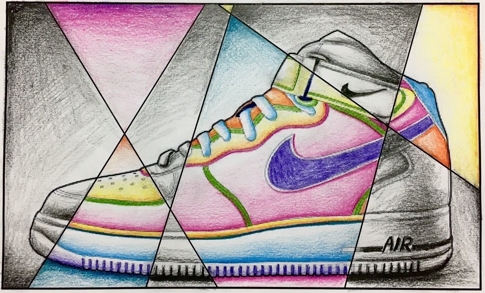 1559x943 Abstract Shoe Value Drawing
