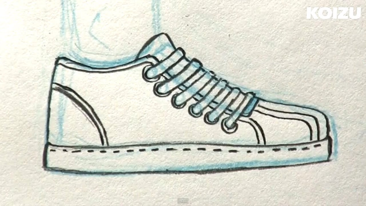 1280x720 How To Draw Manga Shoes!