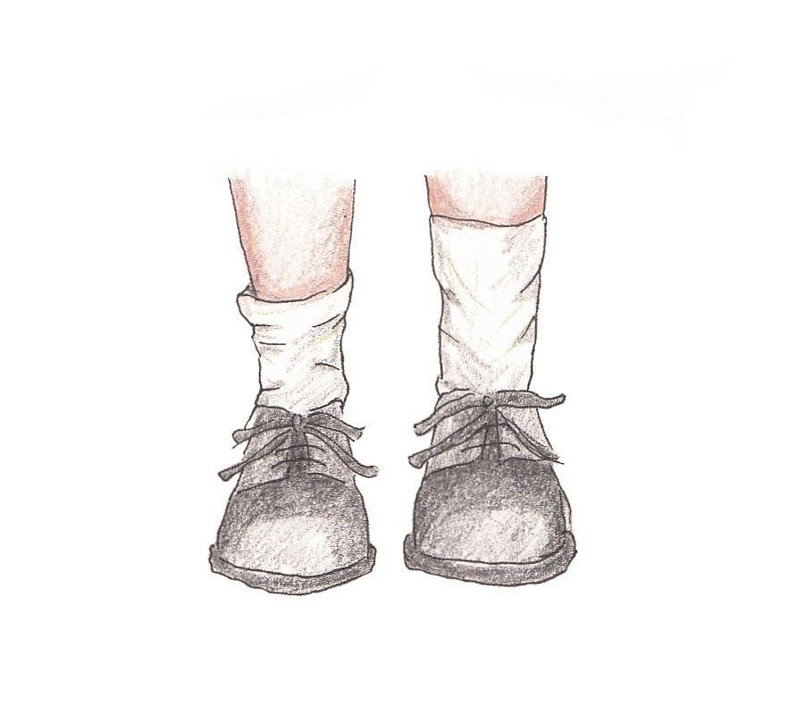 891x810 Feet Drawing By Katie Lagreca