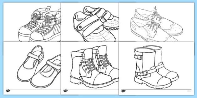630x315 Shoe Design Template