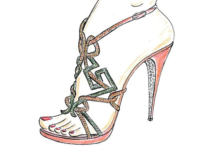 724x526 260 Best Drawing Shoes Images On Fashion Drawings