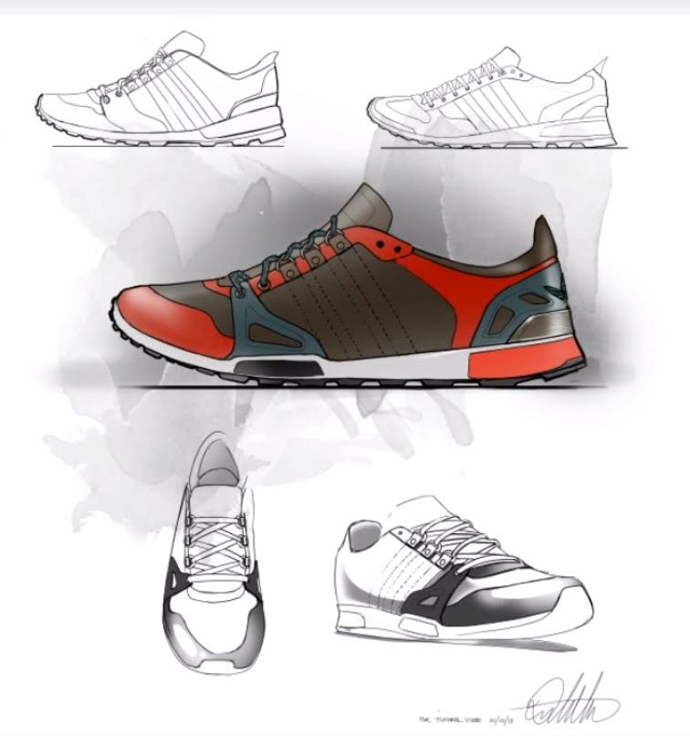 756x806 Footwear Design Sketch Amp Layout Demo